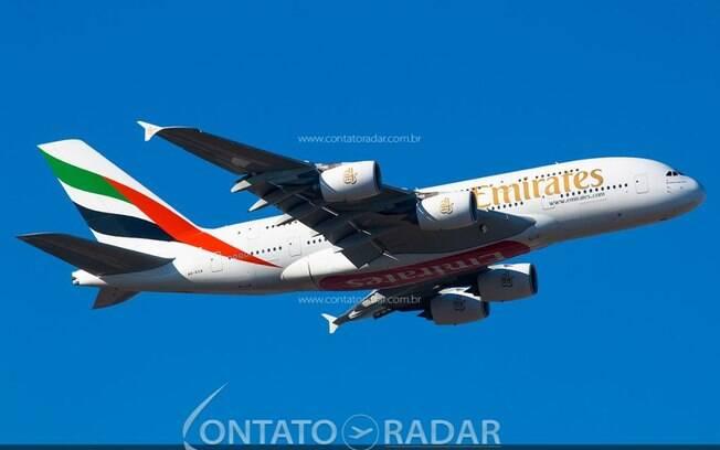 Emirates planeja operar todas as aeronaves da frota no próximo ano