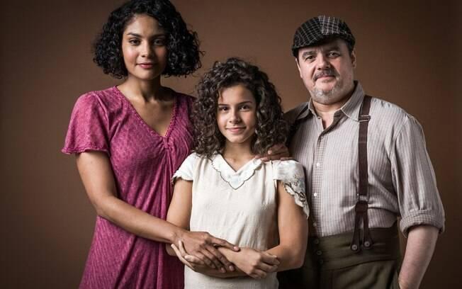 Shirley, Inês e Afonso