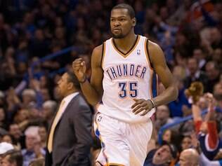 Kevin Durant foi mais uma vez o principal nome do Oklahoma City Thunder