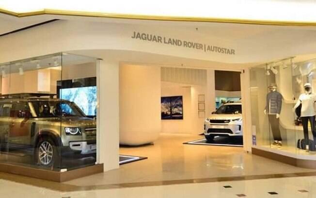Loja do tipo pop-up store da Jaguar Land Rover mostra que novas tendências estão chegando rapidamente aos clientes