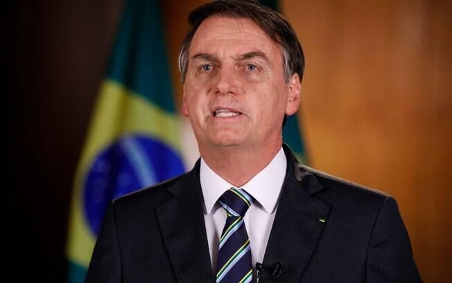 Condecoração concedida por Bolsonaro