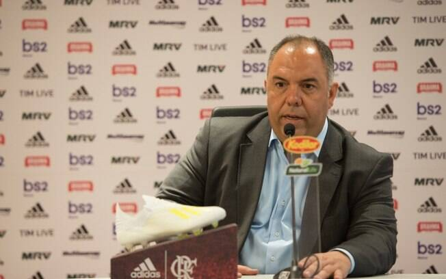 Marcos Braz, vice de futebol do Flamengo