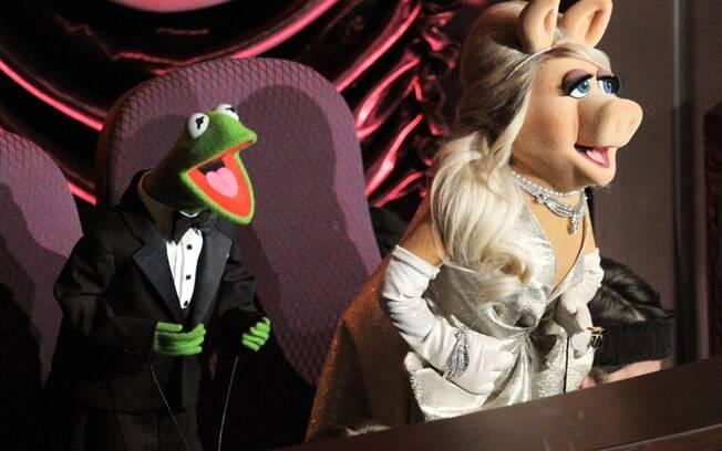 Kermit e Miss Piggy, dos Muppets