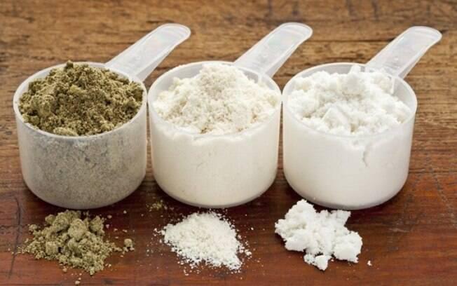 Whey protein é um suplemento alimentar indicado para quem busca hipertrofia