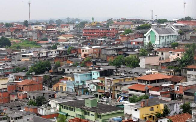 4º lugar  O distrito do Jardim Ângela, na zona sul, tem rendimento