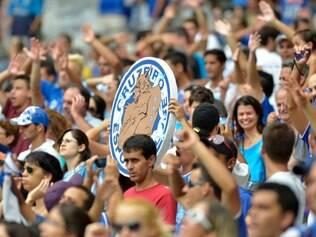 Cruzeiro conta com apoio da torcida para retomar liderança do Brasileirão
