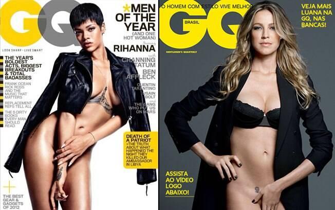 Rihanna x Luana Piovani: qual capa é melhor?