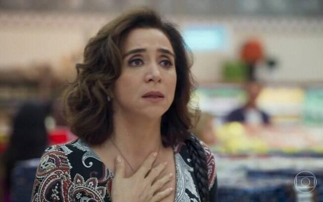 Francesca sofre com as chantagens de Genésio em