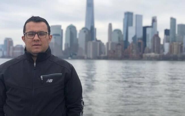 Empresário turco Ali Sipahi tem 31 anos, é sócio de um restaurante e brasileiro desde 2016