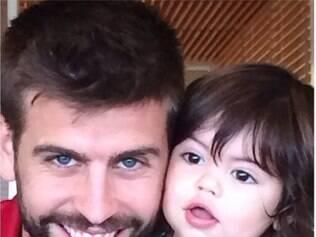 Milan é o nome do único filho do casal