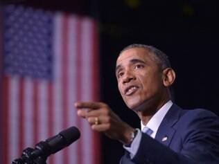 O presidente dos EUA, Barack Obama, fala sobre os ataques na França dizendo: