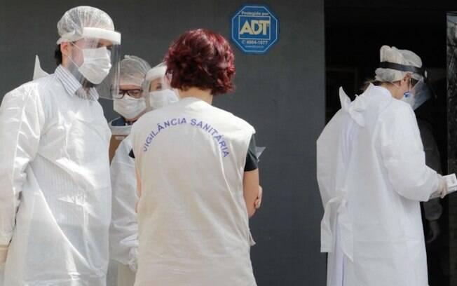 Vigilância interdita asilo no Jardim Von Zuben, em Campinas