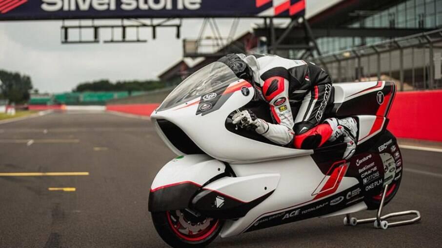 Moto elétrica WM250EV: modelo tentará passar dos 400 km/h no ano que vem para bater recorde mundial