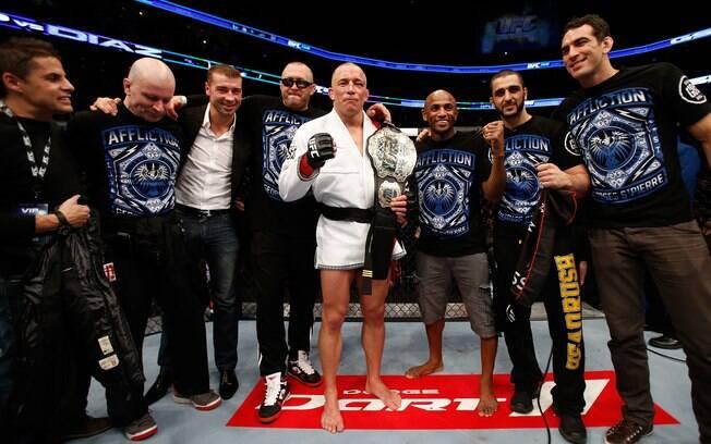 Georges St-Pierre derrota Nick Díaz por  decisão unânime dos juízes no UFC 158