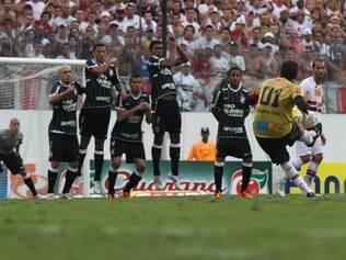 Tricolor paulista enfrenta o Corinthians no estádio onde Rogério Ceni marcou seu centésimo gol