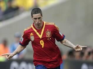 Gols de Fernando Torres impulsionam novos recordes para a seleção  espanhola. Vitória sobre o Taiti por 10 a 0 ... bd37b1ab2651b