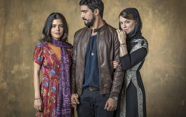 Laila, Jamil e Dalila em