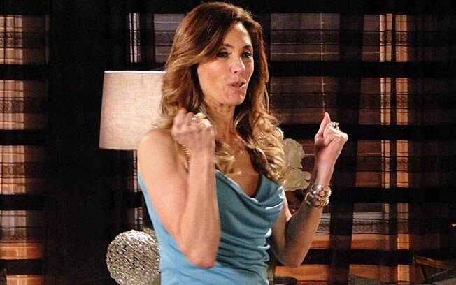 Tereza Cristina planeja acabar com o namoro de Griselda e René