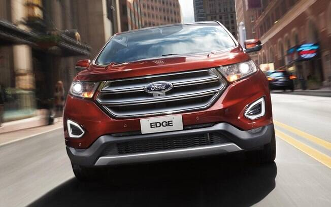O Ford Edge representa a marca num segmento dominado por Audi, BMW, Mercedes-Benz e Volvo