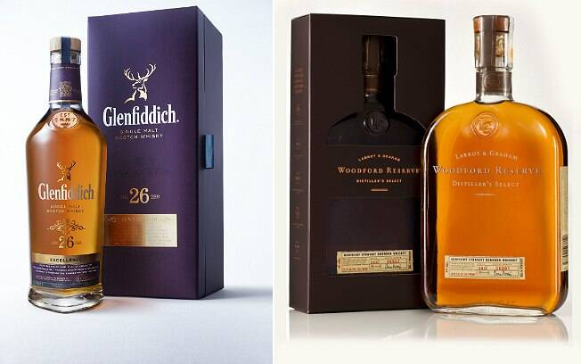 Glenfiddich Excellence 26 e Woodford Reserve: novidades no mercado brasileiro de uísques