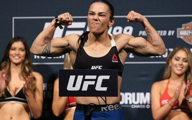 Jessica Andrade é uma das lutadoras brasileiras de MMA que brilham no UFC