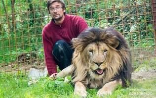 Homem é atacado por leão 'de estimação' e morre no quintal de casa