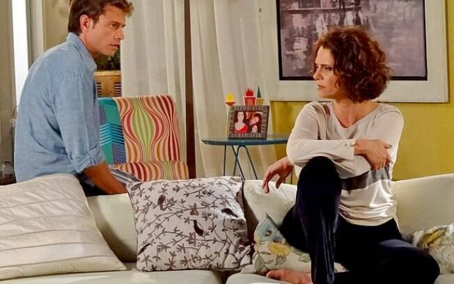 Lygia descobre traições de Alejandro e termina casamento