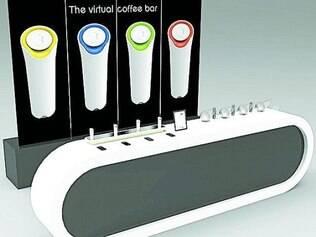Mensagem. Os 32 aromas do inovador sistema permitem milhares de combinações diferentes