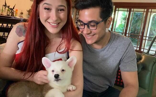 A família completa, Diana, Gabriel e Linux