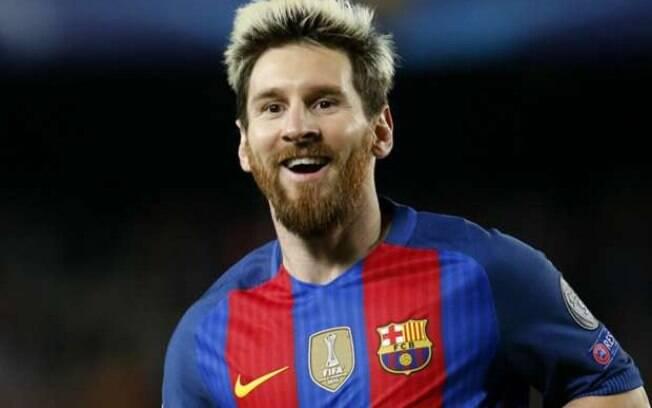 Lionel Messi, camisa 10 do Barcelona