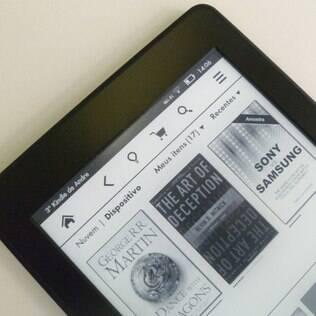 Kindle Paperwhite com 3G está no Brasil