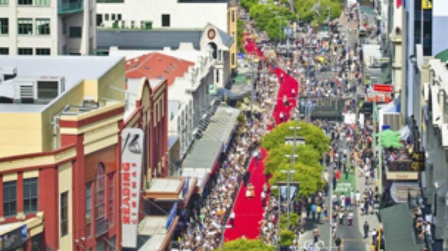 Pré-estreia da trilogia Hobbit em Wellington atraiu 100 mil fãs
