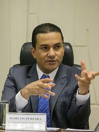 Marcos Pereira é vice-presidente da Câmara dos Deputados
