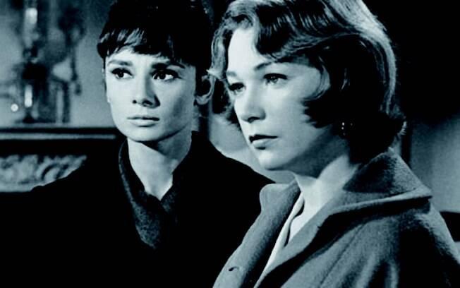 Em 'Infâmia', Audrey Hepburn e Shirley Maclaine são amigas muito íntimas