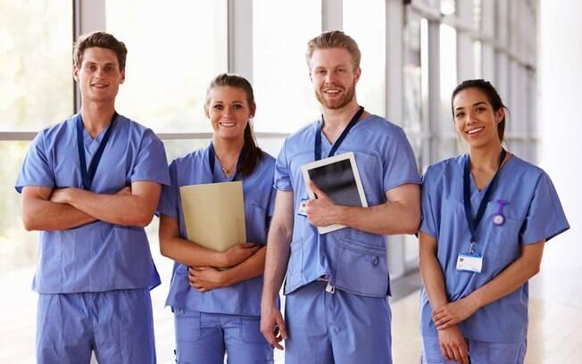 Enfermagem é um dos cursos superiores mais buscados no Brasil