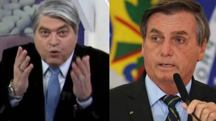 Datena e Bolsonaro