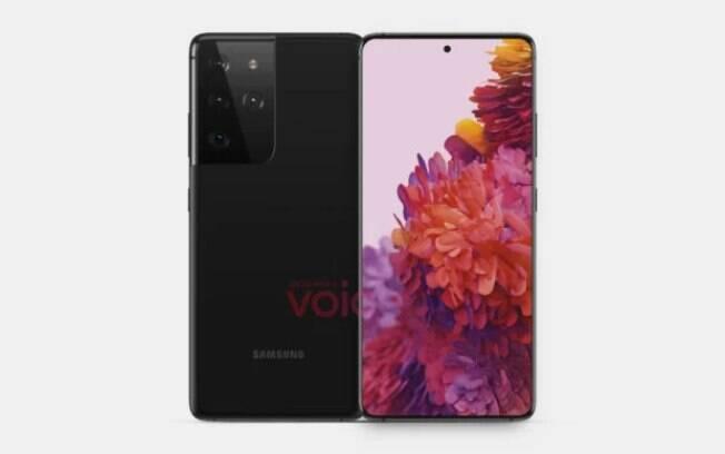 Possível Samsung Galaxy S21