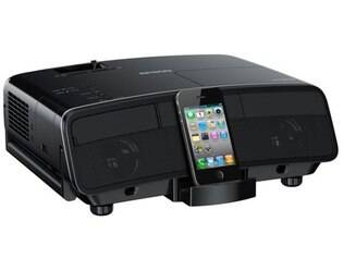 Projetor conta com dock para dispositivos móveis da Apple