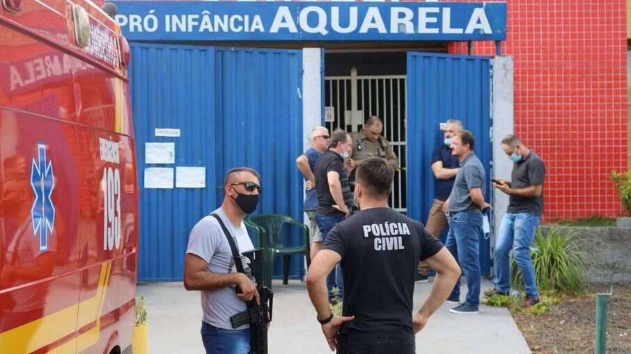 MP de Santa Catarina pede à Justiça conversão da prisão em flagrante em preventiva do jovem que invadiu escola infantil