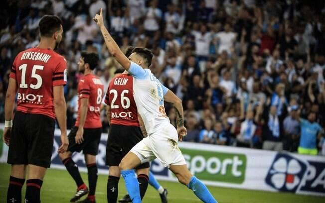Olympique e Rennes ficaram no empate