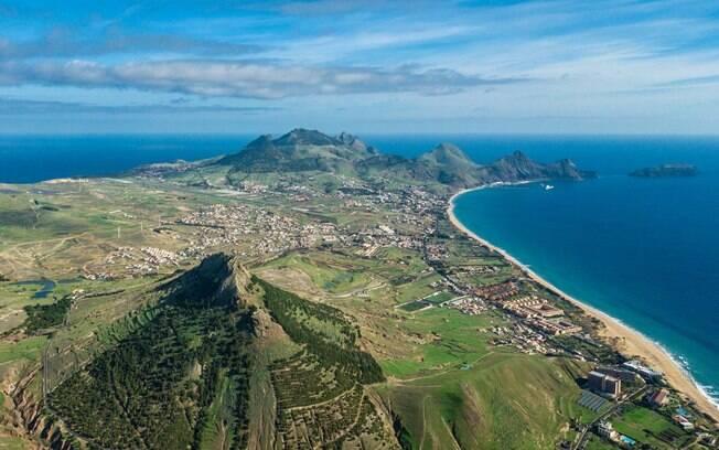 Famosa pela sua beleza, a praia do porto santo é apenas mais uma das maravilhas da Ilha da Madeira