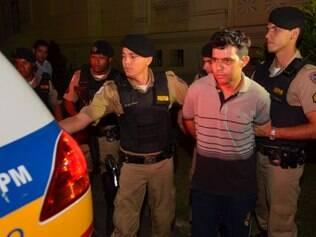 Após se entregar à polícia, suspeito foi apresentado  na 1ª Região Integrada de Segurança Publica, na Praça Rio Branco (Risp), no centro de Belo Horizonte