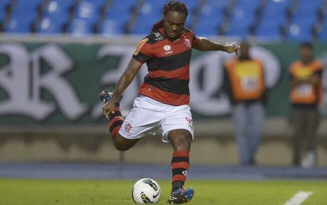 Depois de passagem pelo Flamengo em 2010,  Vágner Love retornou ao clube em janeiro de 2012