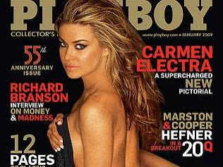 """""""Playboy"""" dos EUA desiste de nudez"""
