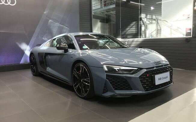 Audi R8 teve a primeira leva que chegou ao Brasil toda vendida. Cada carro sai por R$ 1.260.990, com motor V10 de 610 cavalos