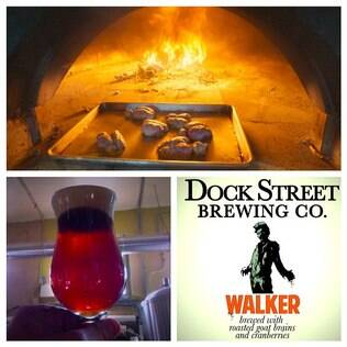Dock Street Walker usa cérebro em sua receita