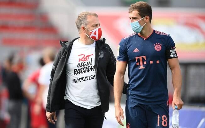 Bundesliga não obrigará mais o uso de máscaras nas partidas