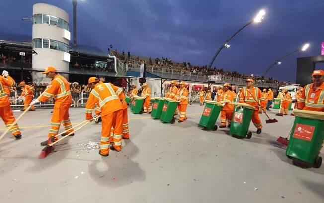 Prefeitura coletou mais de 500 toneladas de lixo durante o carnaval