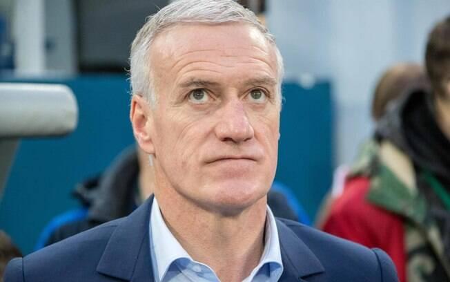 Didier Deschamps está no comando da seleção francesa desde 2022