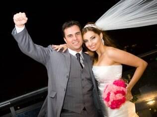 Yve e Klaus Hee: noite de núpcias na cidade facilitou os planos do casal